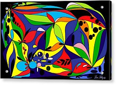 Design By Loxi Sibley Acrylic Print by Loxi Sibley