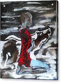 Dinka Bride - South Sudan Acrylic Print
