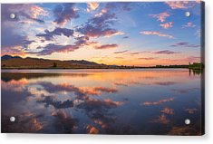 8 Dollar Sunset Acrylic Print by Darren  White