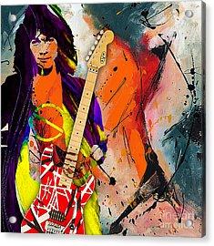 Eddie Van Halen Special Edition Acrylic Print