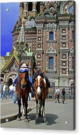 Europe, Russia, St Acrylic Print