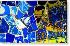 Gaudi Acrylic Print by Olga Breslav