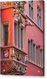 Germany, Baden-wurttemburg, Black Acrylic Print by Walter Bibikow