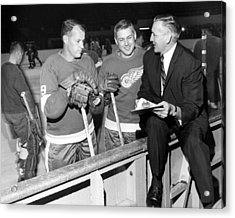 Gordie Howe Acrylic Print by Retro Images Archive