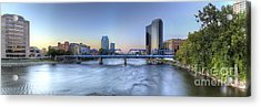 Grand Rapids  Acrylic Print by Twenty Two North Photography