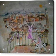 Italian Story Album Acrylic Print