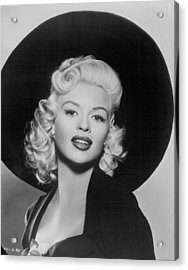 Jayne Mansfield Acrylic Print by Retro Images Archive