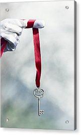 key Acrylic Print by Joana Kruse