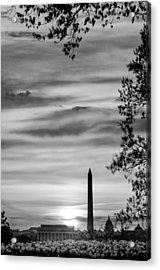 Lincoln Memorial Acrylic Print by Celso Diniz