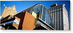 Low Angle View Of Buildings In A City Acrylic Print by Panoramic Images