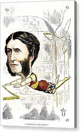 Matthew Arnold (1822-1888) Acrylic Print by Granger