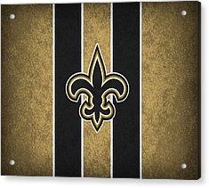 New Orleans Saints Acrylic Print