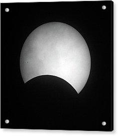 Partial Solar Eclipse Acrylic Print