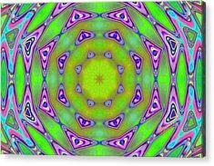 Pattern 21 Acrylic Print