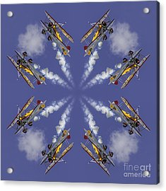 8 Planes Acrylic Print by Jerry Fornarotto