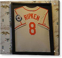 8 Ripken Acrylic Print by David Simons