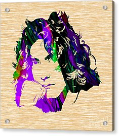 Robert Plant Collection Acrylic Print by Marvin Blaine