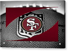 San Francisco 49ers Acrylic Print by Joe Hamilton