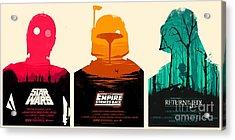 Star Wars Acrylic Print by Baltzgar