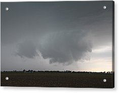Acrylic Print featuring the photograph Strong Nebraska Supercells by NebraskaSC