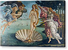 The Birth Of Venus Acrylic Print