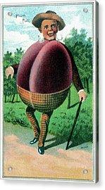 Trade Card, C1887 Acrylic Print