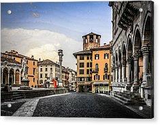 Udine Acrylic Print by Chris Smith