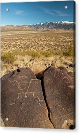 Usa, New Mexico, Three Rivers Acrylic Print by Jaynes Gallery