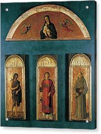 Italy, Veneto, Venice, Accademia Art Acrylic Print