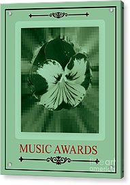 Music Awards Acrylic Print by Meiers Daniel