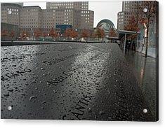 8488 911 Memorial View Acrylic Print by Deidre Elzer-Lento