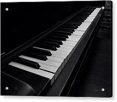 88 Keys Acrylic Print by Thomas Woolworth