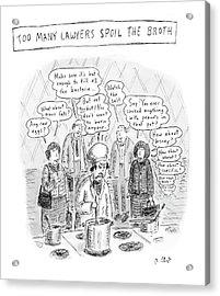 New Yorker May 21st, 2007 Acrylic Print