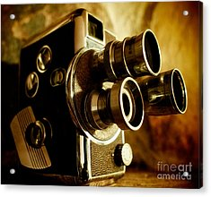 8mm Acrylic Print by Mark Miller