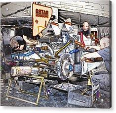 8star Motorsports Acrylic Print