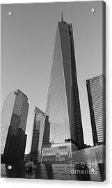9/11 Memorial Acrylic Print by Shiela  Mahaney