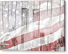 9 11 Acrylic Print by Mo T