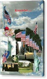 9-11 Remembrance Acrylic Print