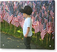 Acrylic Print featuring the photograph 9 /11s New Generation by Bruce Carpenter