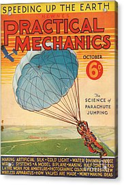 1930s Uk Practical Mechanics Magazine Acrylic Print by The Advertising Archives