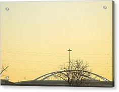 Bridges Acrylic Print by Tinjoe Mbugus