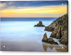 Campelo Beach Galicia Spain Acrylic Print