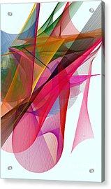 Color Symphony Acrylic Print