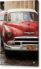 Cuba, Havana, Havana Vieja, Morning Acrylic Print by Walter Bibikow