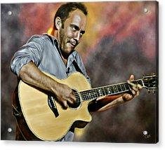 Dave Matthews Band Acrylic Print