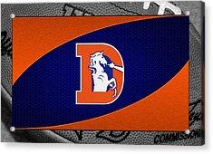 Denver Broncos Acrylic Print