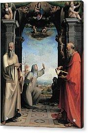 Domenico Di Giacomo Di Pace Known Acrylic Print by Everett
