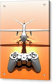 Drone Acrylic Print by Victor Habbick Visions