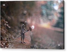 9 Acrylic Print by Erdal Suat
