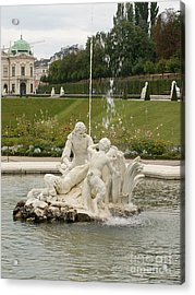 Fountain Acrylic Print by Evgeny Pisarev